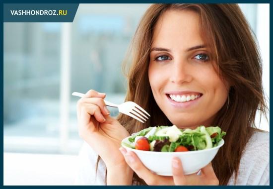Рацион питания при остеохондрозе