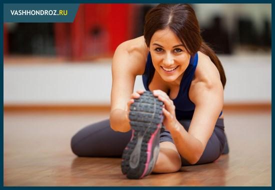 Регулярные занятия помогают создать надежный мышечный корсет