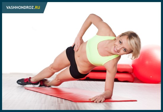 Лучшие упражнения при поясничном остеохондрозе